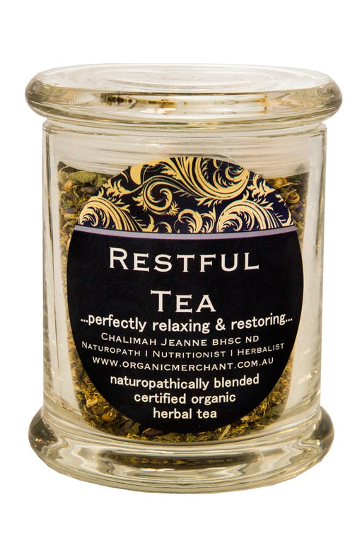 Organic Merchant Restful Tea - Jar