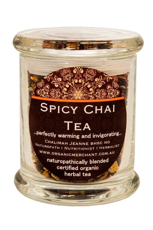 Organic Merchant Chai Tea Spicy - Jar
