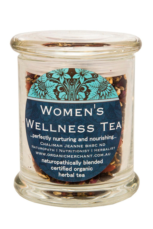 Organic Merchant Woman's Wellness Tea - Jar