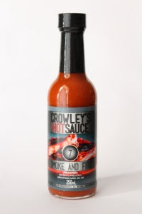 Crowley's Hot Sauce - 7 Smoke And Fire