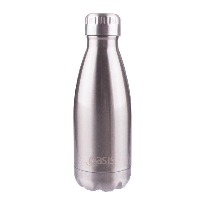 Oasis S/S Insulated Drink Bottle 350ml - Stainless Steel