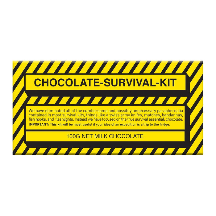 Survival Kit Chocolate 100g - Milk