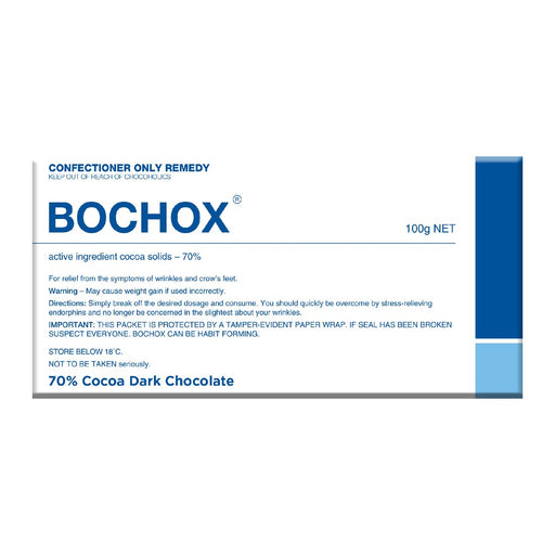 Bochox Chocolate 100g - Dark