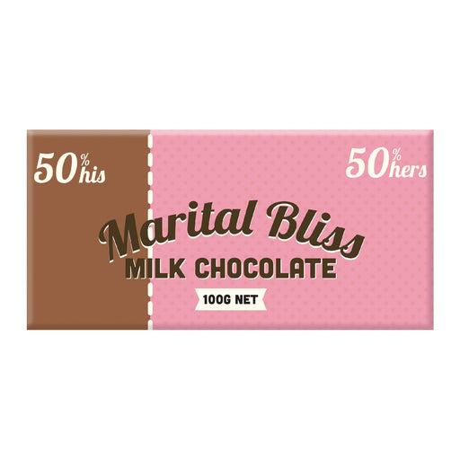 Marital Bliss Chocolate 100g - Milk