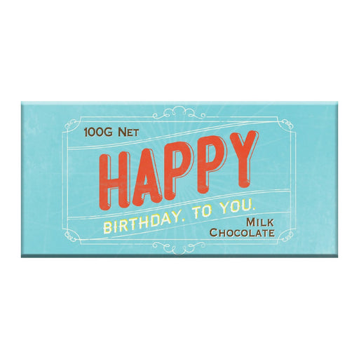 Happy Birthday to U Chocolate 100g - Milk