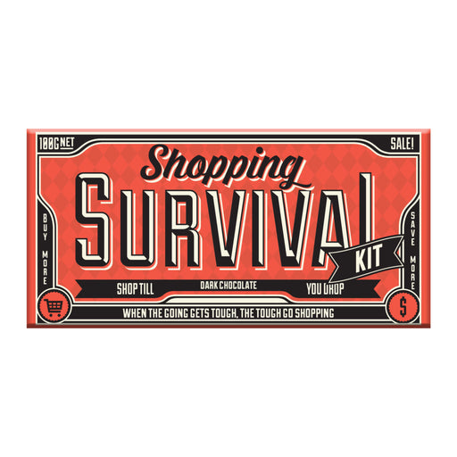 Shopping Survival Chocolate 100g - Milk