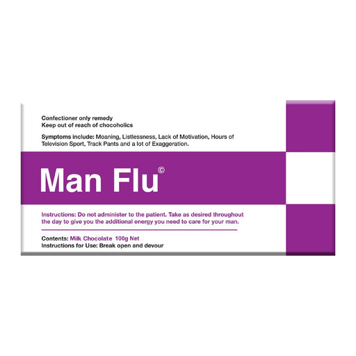 Manflu Chocolate 100g - Dark