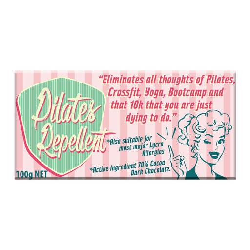 Pilates Repellant Chocolate 100g - Dark