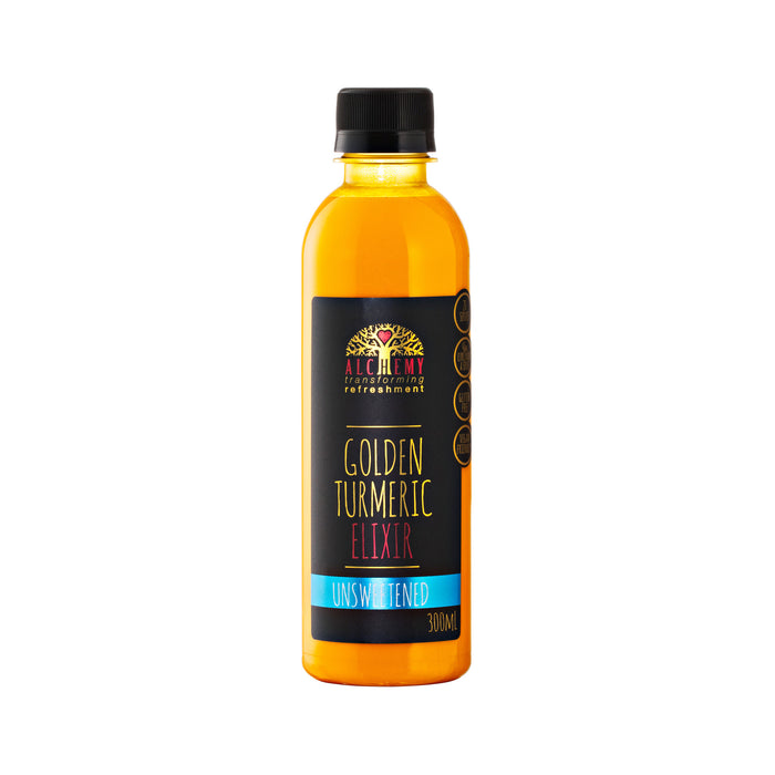 Alchemy Unsweetened Golden Tumeric Elixir 300ml