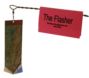 The Flasher - Woodpecker Deterrent