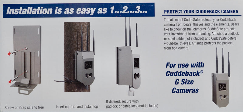 CuddeSafe Size G Model 3419