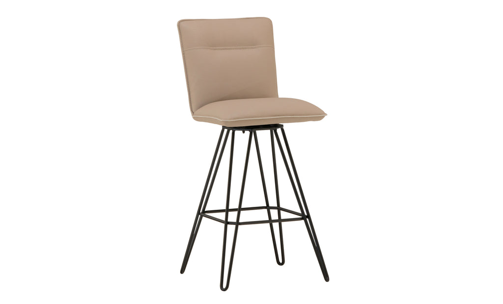 Demi Taupe Bar Stool Schneiderman S Furniture