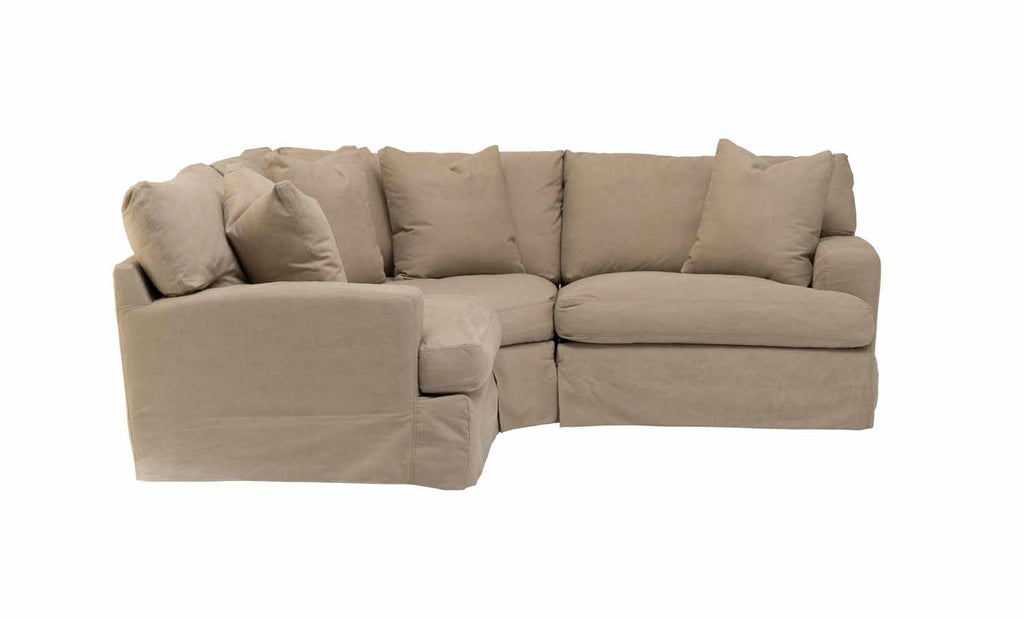 Alpha Stone Sectional Schneiderman S Furniture