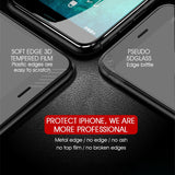 New 7D Aluminium Glass screen protector