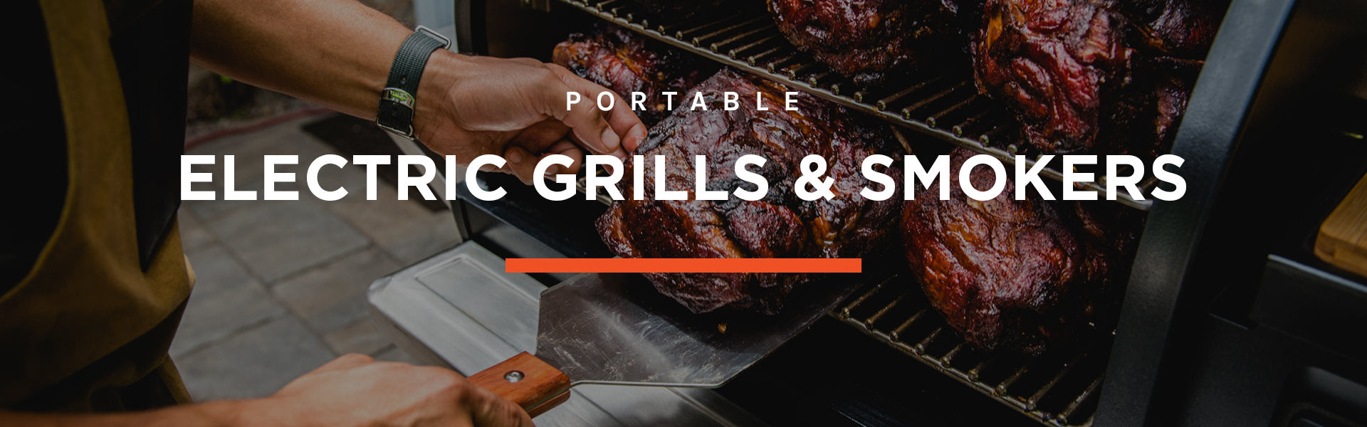 Electric Grills & Smokers Portable