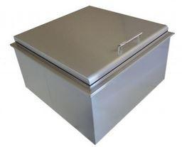 PCM 400 Series 18x18 Drop In Ice Bin