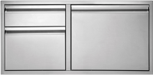 Twin Eagles 36in 2 Drawer Door Combo