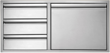 Twin Eagles 42in 3 Drawer Door Combo