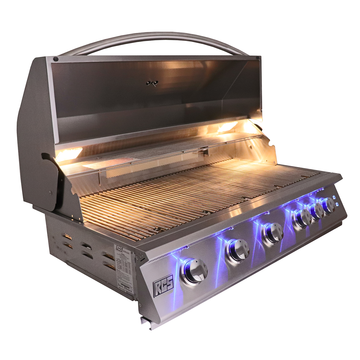 "RCS 40"" Premier Drop-In Grill w/ LED Lights - RJC40AL-LP"