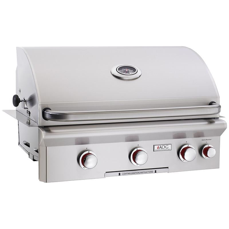 "30"" American Outdoor Grill T-Series Built-In Grill w/ Rotisserie, Liquid Propane"