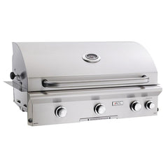 "36"" American Outdoor Grill L-Series Built-In Grill w/ Lights and Rotisserie, Liquid Propane"