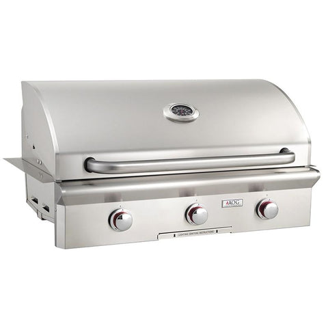 "36"" American Outdoor Grill T-Series Built-In Grill, Liquid Propane"