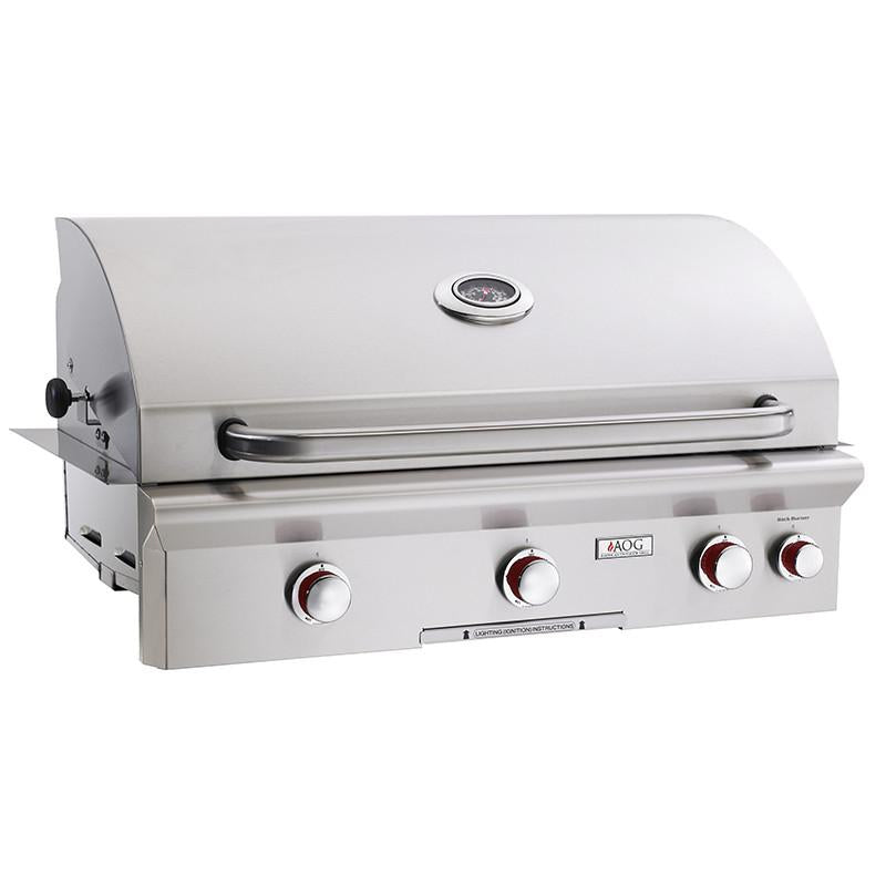 "36"" American Outdoor Grill T-Series Built-In Grill w/ Rotisserie, Natural Gas"