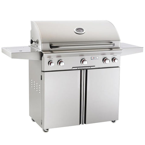 "36"" American Outdoor Grill T-Series On Cart Grill w/ Rotisserie, Natural Gas"