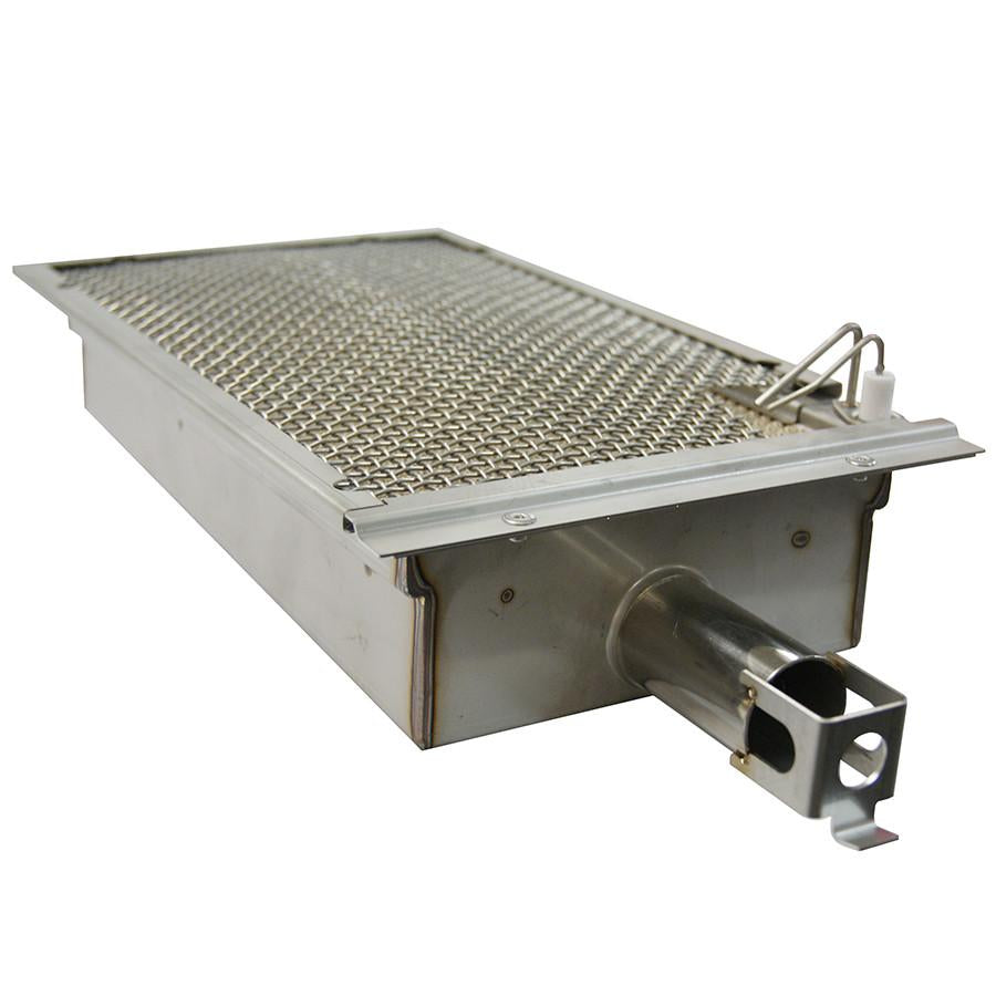 "24"" American Outdoor Grill L-Series On In-Ground Post Mount Grill w/ Lights and Rotisserie, Liquid Propane"