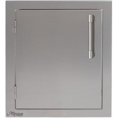 "Alfresco 17"" Single Access Door, Vertical Left Hinge"