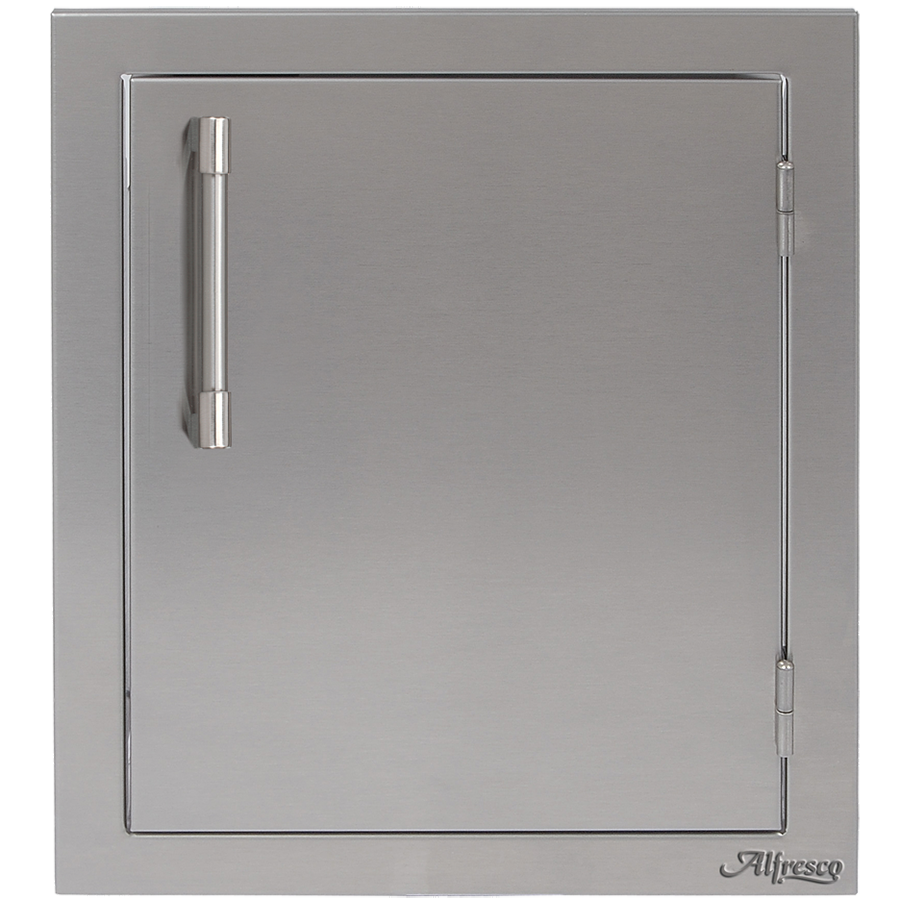 "Alfresco 17"" Single Access Door, Vertical Right Hinge"