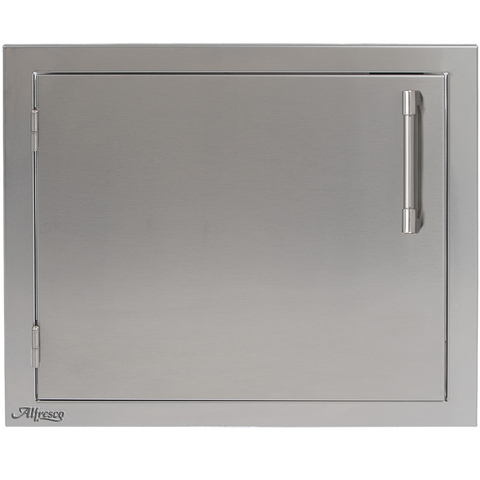 "Alfresco 23"" Single Access Door, Vertical Left Hinge"