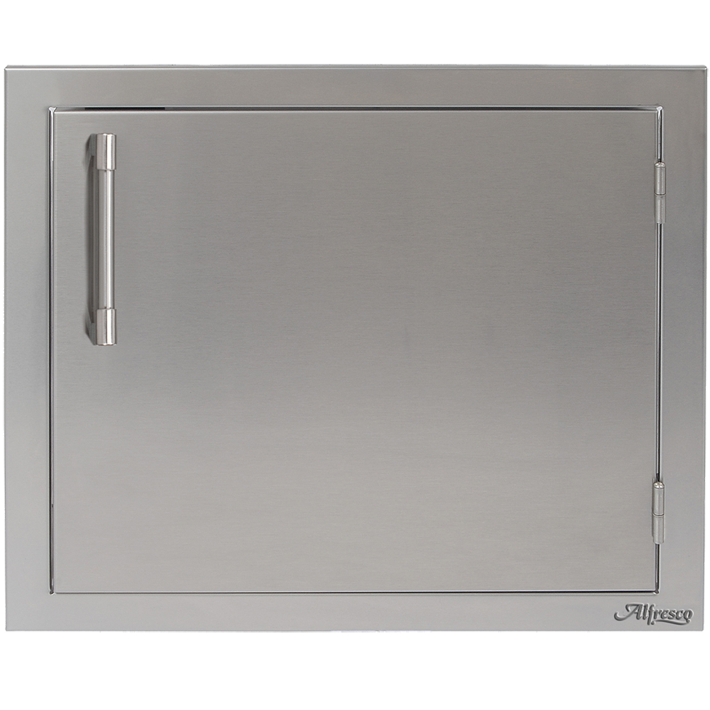 "Alfresco 23"" Single Access Door, Vertical Right Hinge"