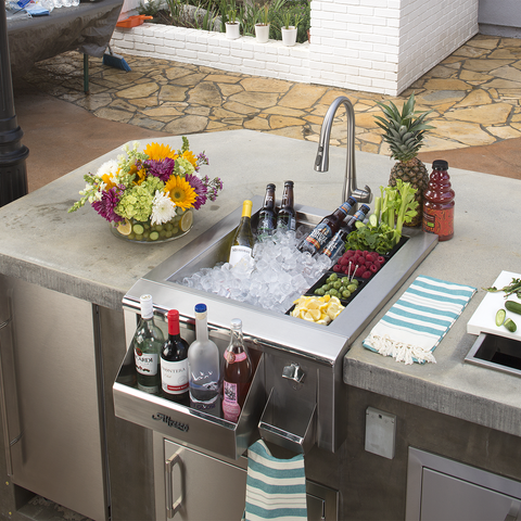 "Alfresco 24"" Versa Bartender Center w/ Sink"