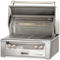 "30"" Alfresco ALXE Built-In Gas Grill w/ Rotisserie, Liquid Propane"