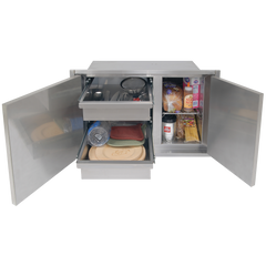 "Alfresco 30"" x 33"" High Profile Sealed Dry Storage Pantry"