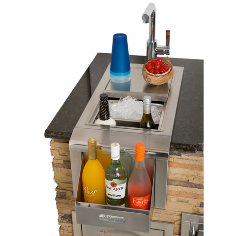 "Alfresco 14"" Versa Bartender Center w/ Sink"