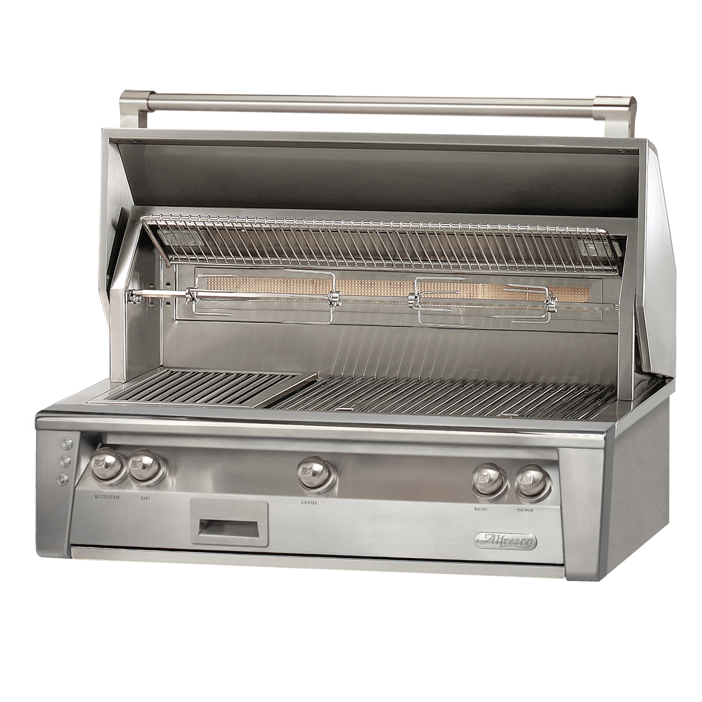 "42"" Alfresco ALXE Built-In Gas Grill w/ Rotisserie, Natural Gas"