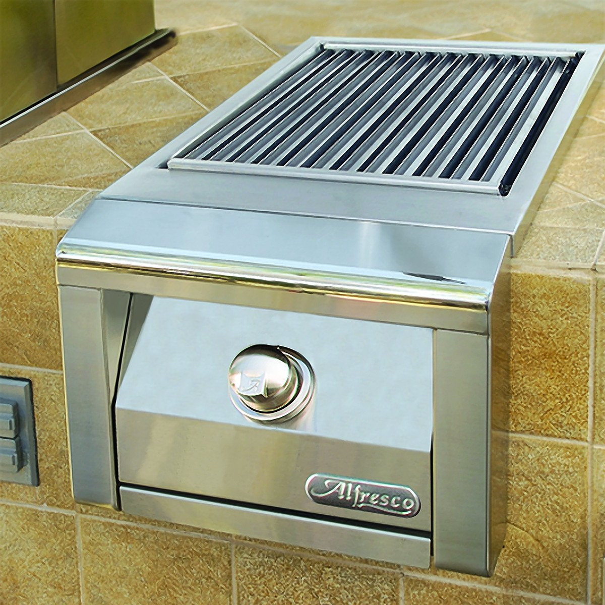 Alfresco Sear Zone Side Burner Built-In, Liquid Propane