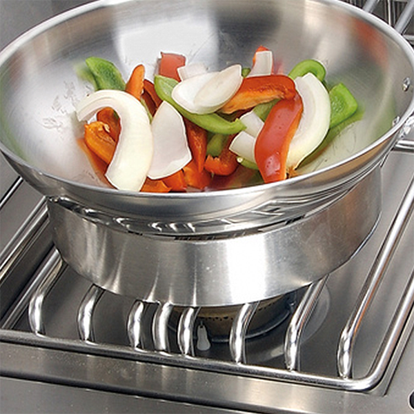 Alfresco Wok Ring Adapter for Side Burners