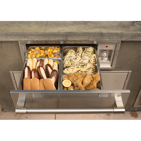 "Alfresco 30"" Electric Warming Drawer"