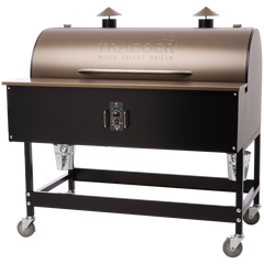 Traeger XL Pellet Grill on Cart, Bronze