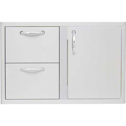 "Blaze 32"" Access Door & Double Drawer Combo"