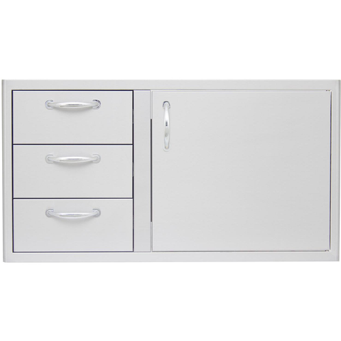 "Blaze 39"" Access Door & Triple Drawer Combo"