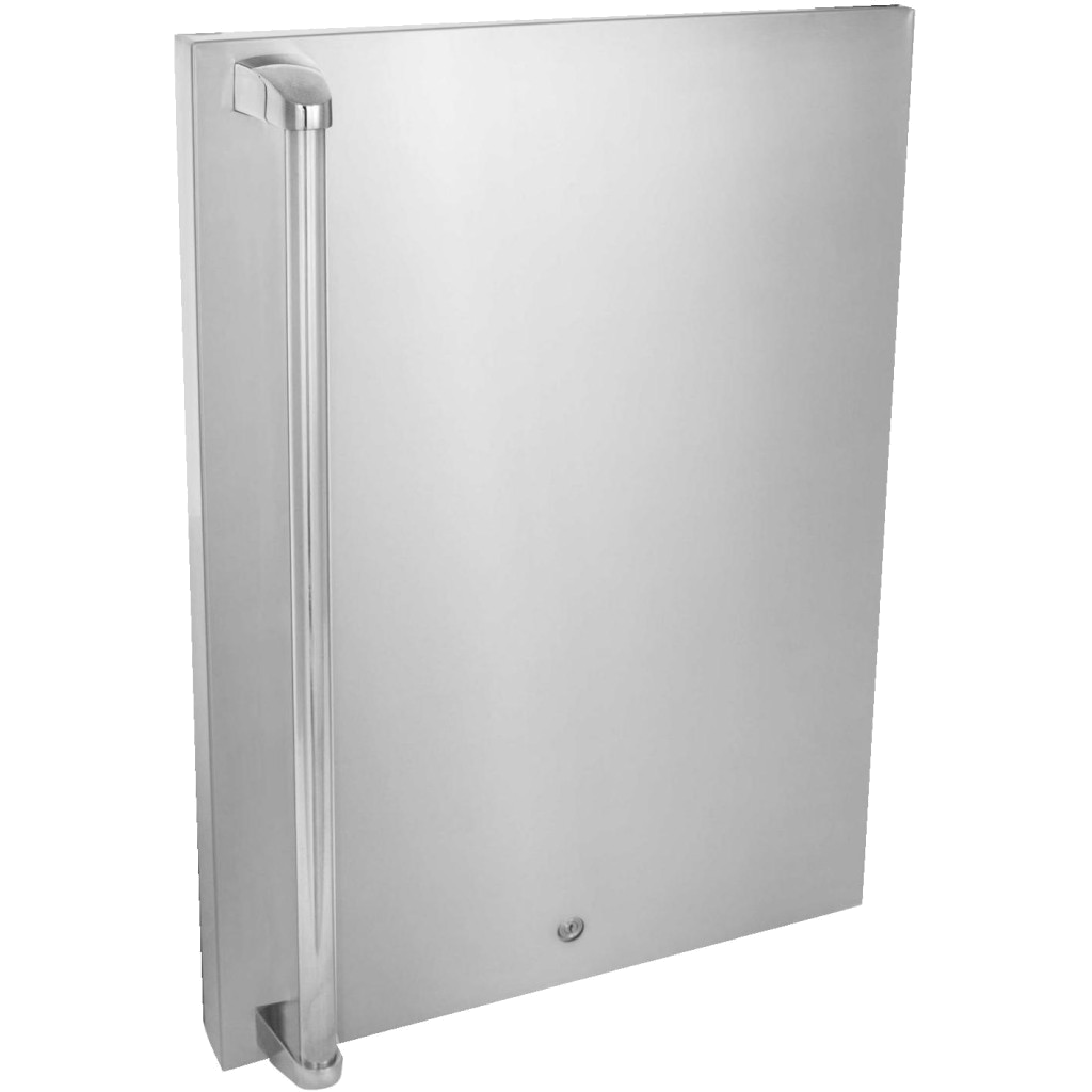 Blaze Stainless Steel Front Fridge Door Sleeve Upgrade for 4.5 CU, Right Hinge