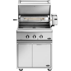 "30"" DCS Freestanding Grill w/ Rotisserie on CAD Cart, Liquid Propane"