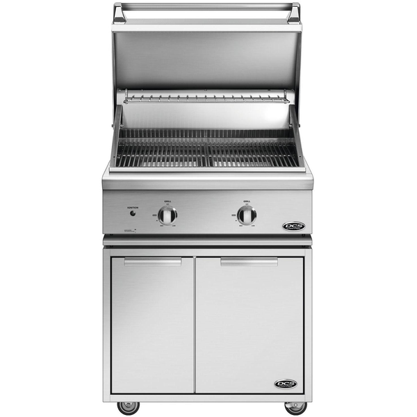 30 Quot Dcs Freestanding Grill On Cad Cart Natural Gas Bbq