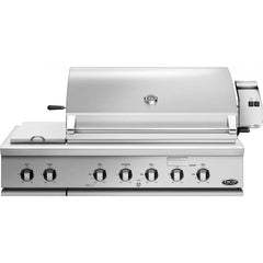 "48"" DCS Built-In Grill w/ Side Burners and Rotisserie, Natural Gas"
