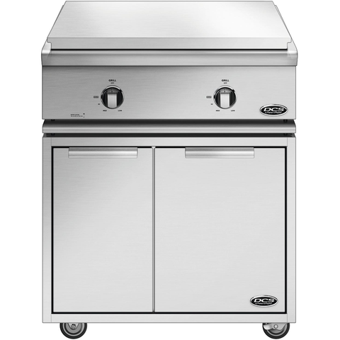 "30"" DCS Liberty Freestanding All-Grill on CAD Cart, Liquid Propane"