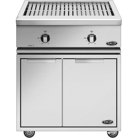 "30"" DCS Liberty Freestanding All-Grill on CAD Cart, Natural Gas"